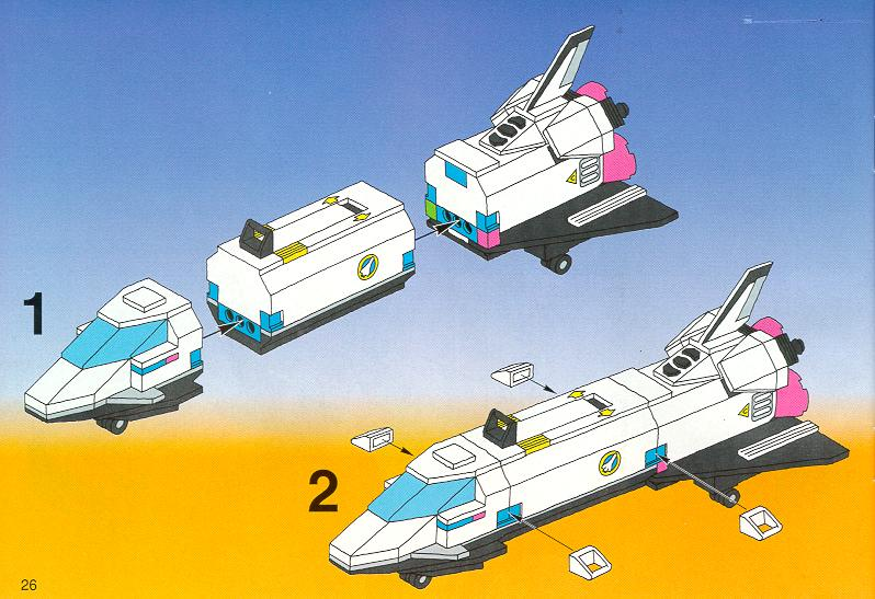 lego space shuttle transport instructions - photo #22