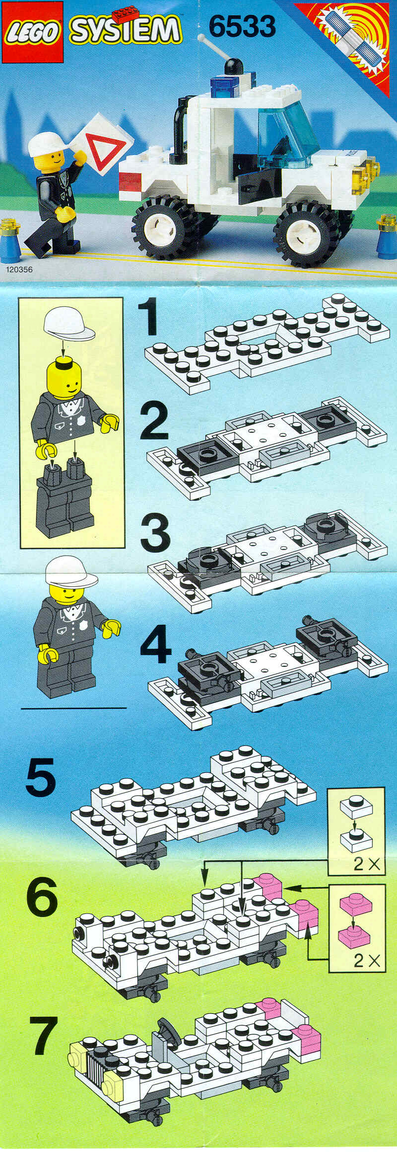 how to make a lego four wheel drive