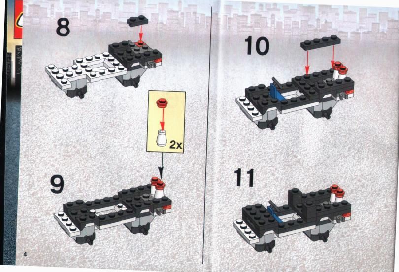 lego city police van instructions