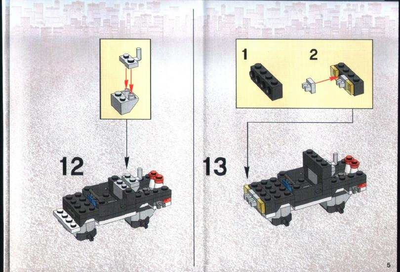 lego police van instructions