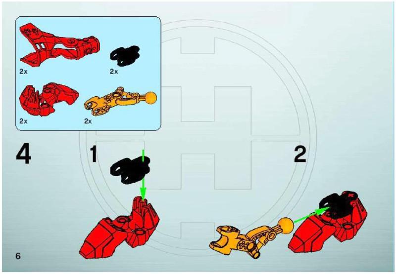 lego hero factory furno instructions
