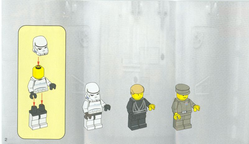 lego star wars final duel instructions