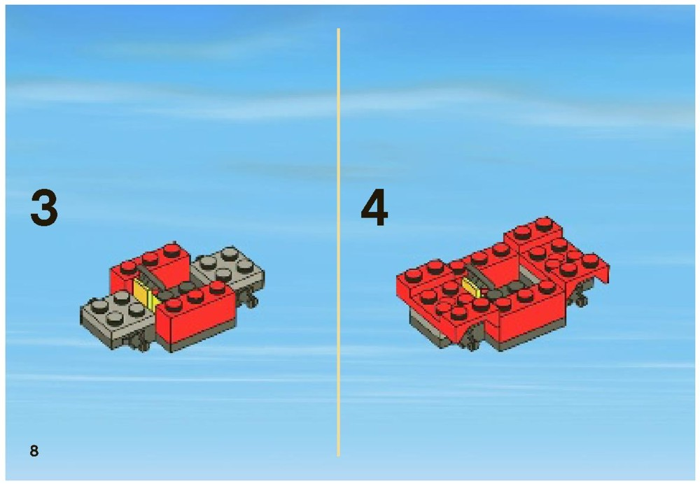 lego mobile police unit instructions