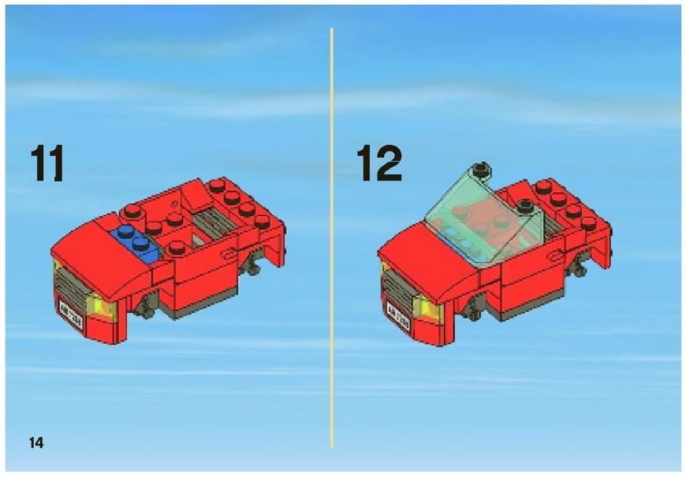 Lego Instructions Police 7288
