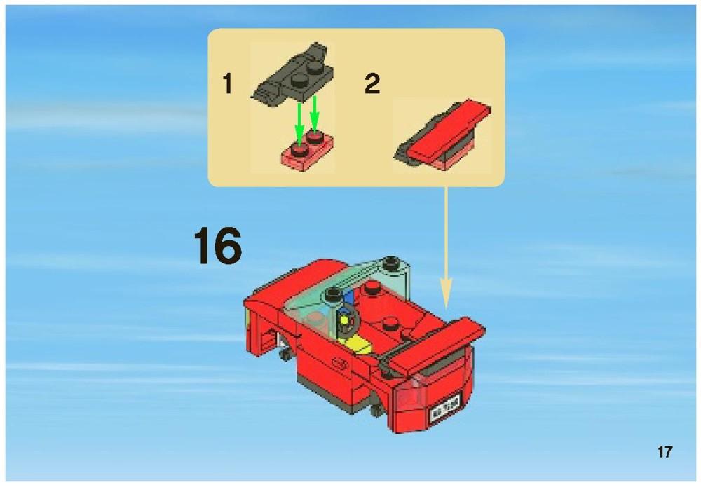 lego city 7288 instructions