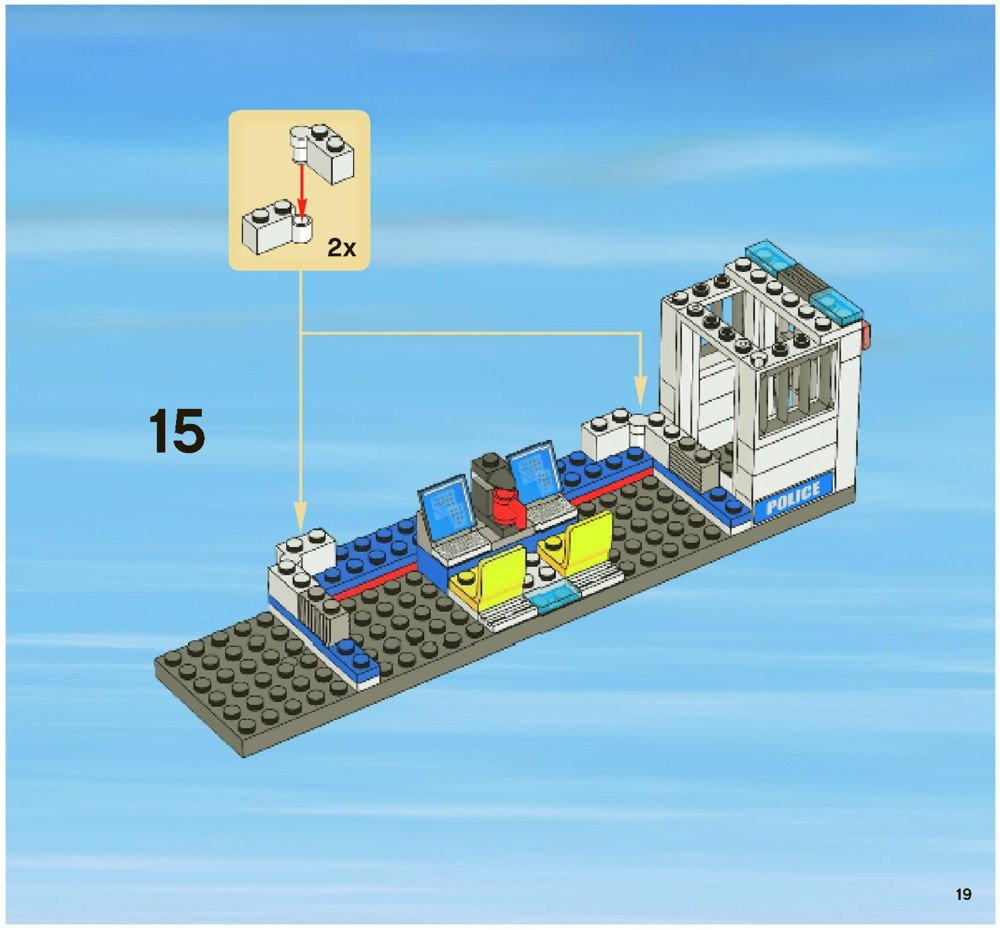 lego mobile police unit instructions