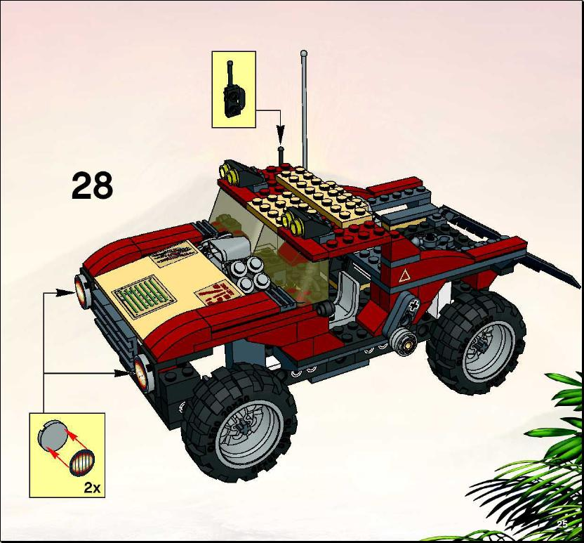 lego dino 2010 instructions