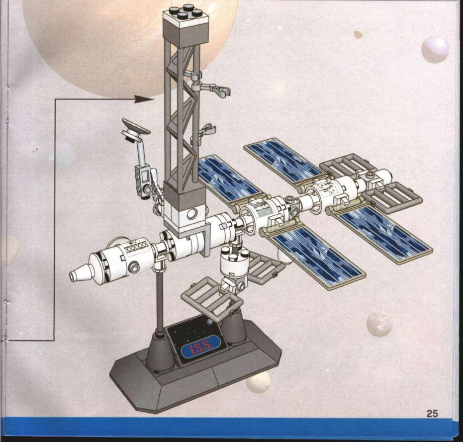 lego space station instructions