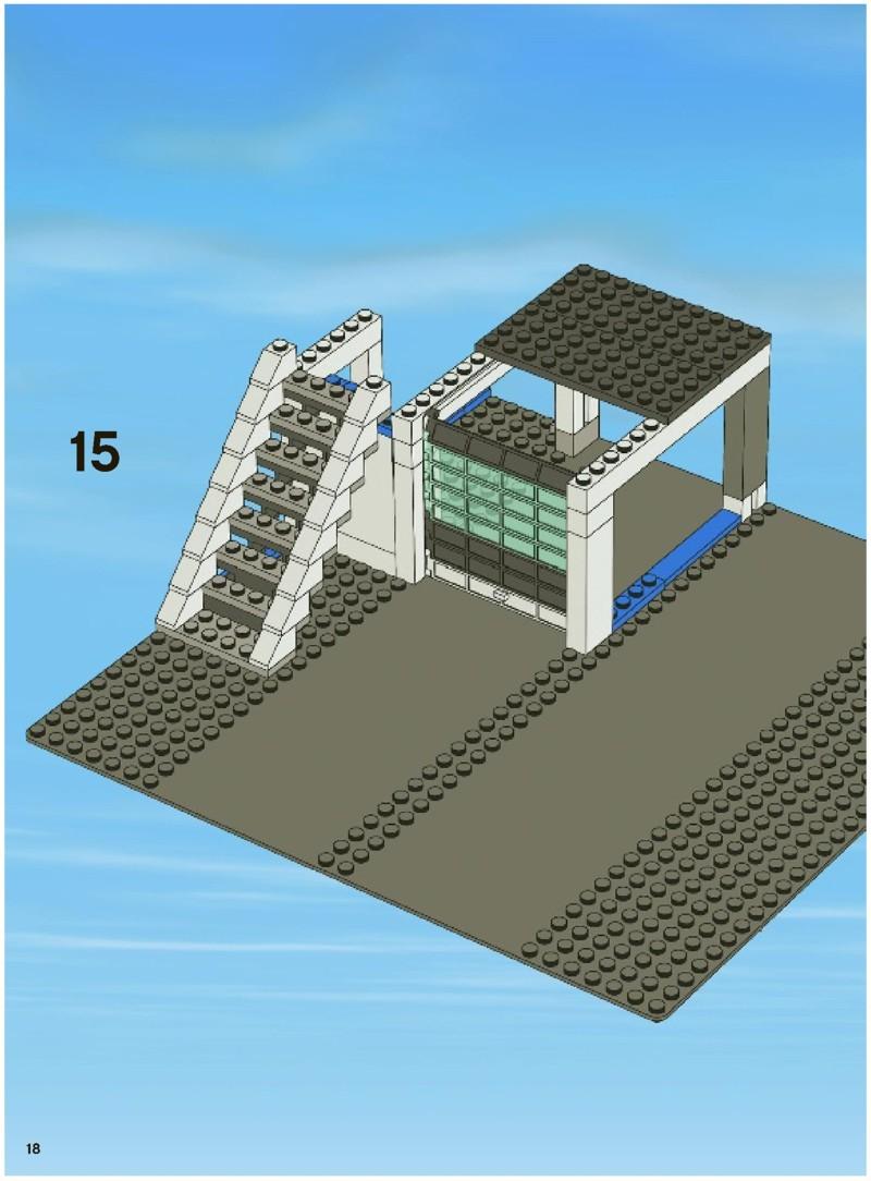 Lego City Police Station Instructions Headquarters 7744 Forest 4440 Amazoncom