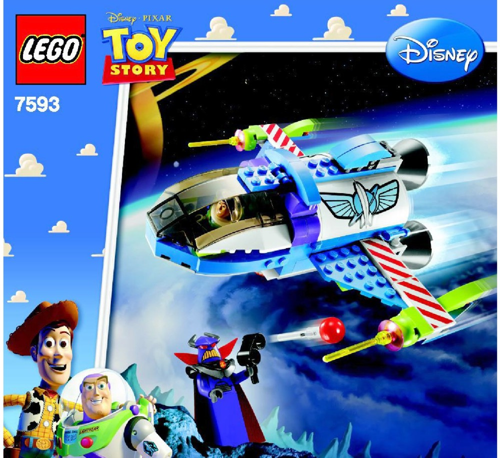 lego toy story instructions