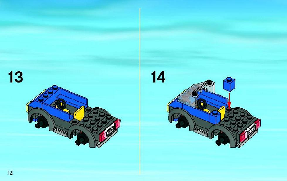 lego city garage 7642 instructions