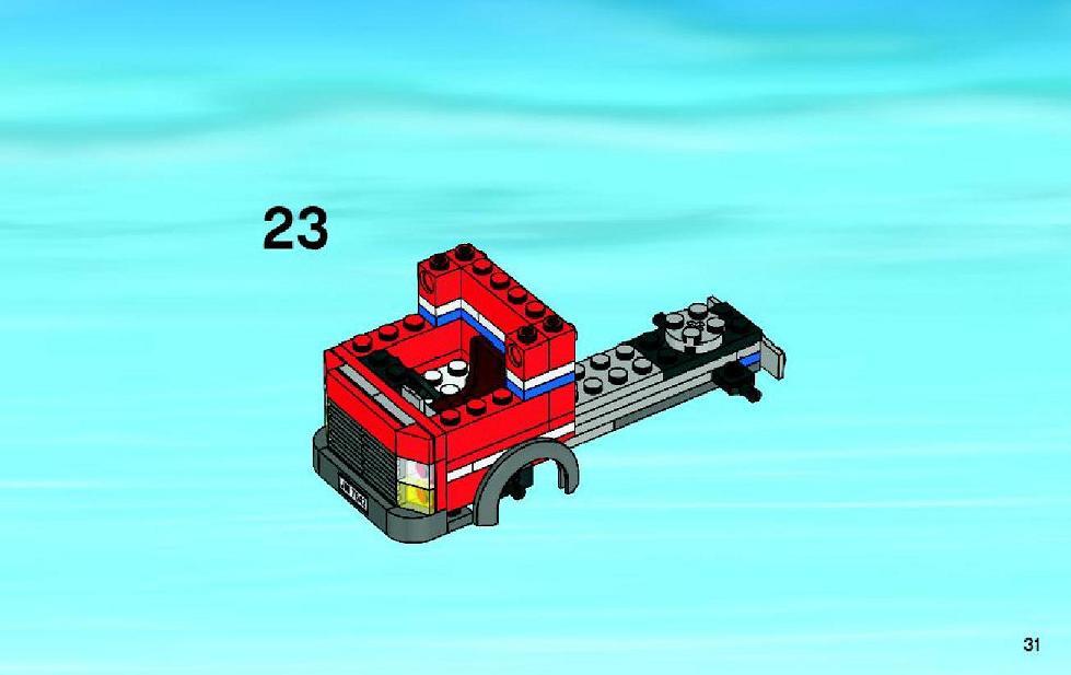 lego city garage 7642 instructions