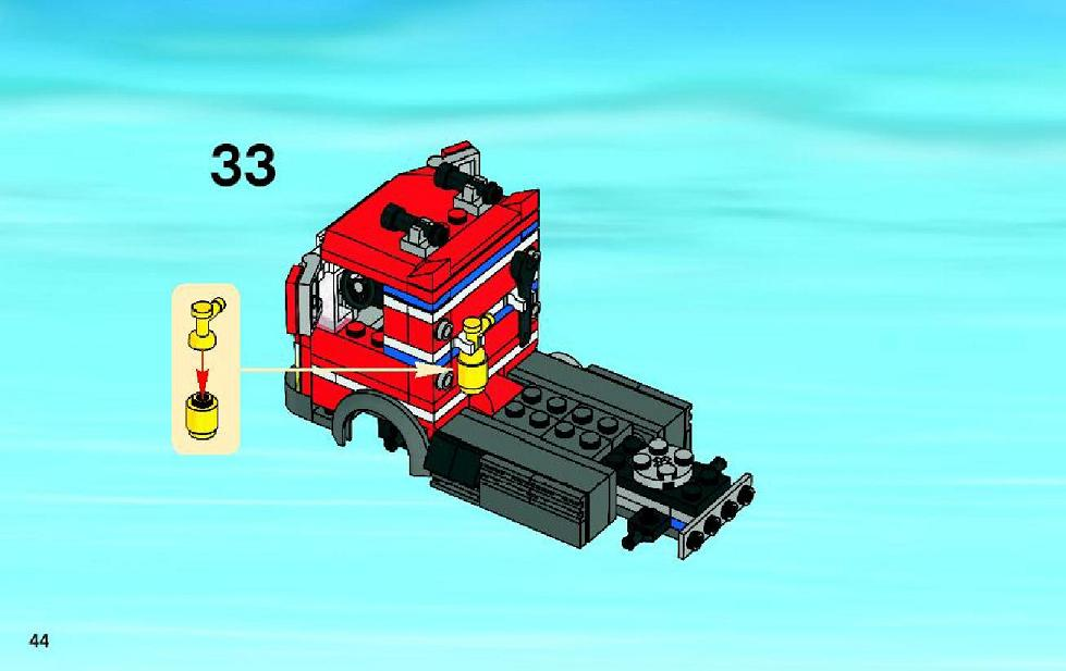 lego city garage instructions