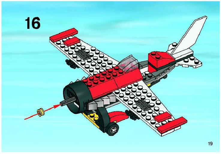lego batman plane instructions