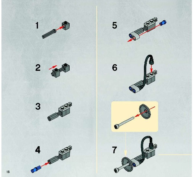 Lego Star Wars Homing Spider Droid Instructions