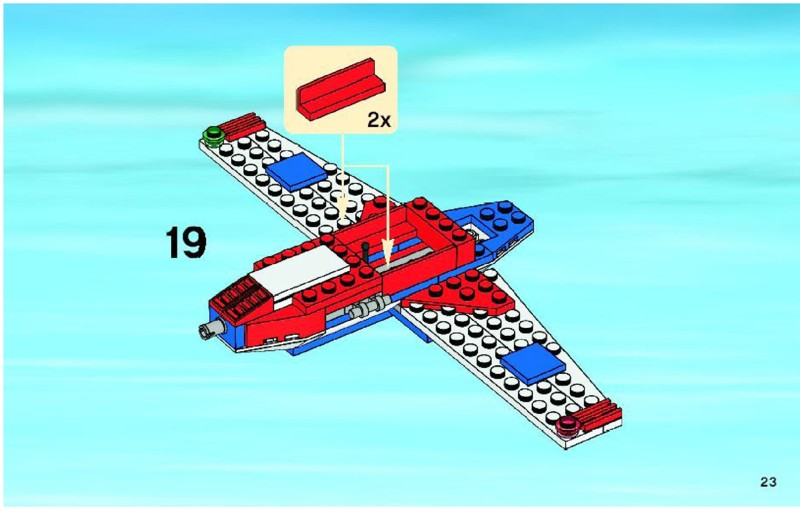 lego batman plane instructions