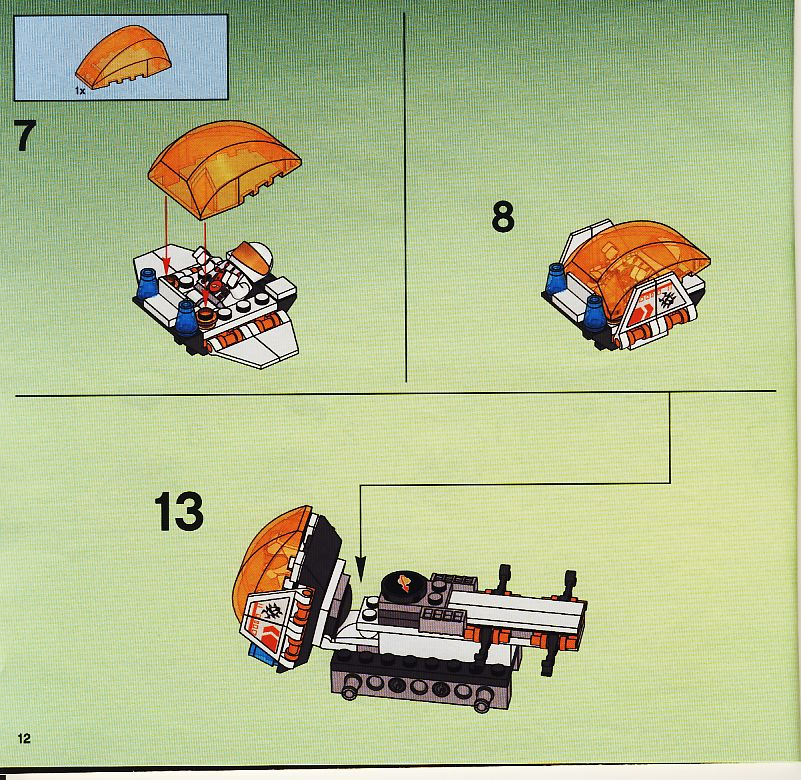 lego mars mission instructions