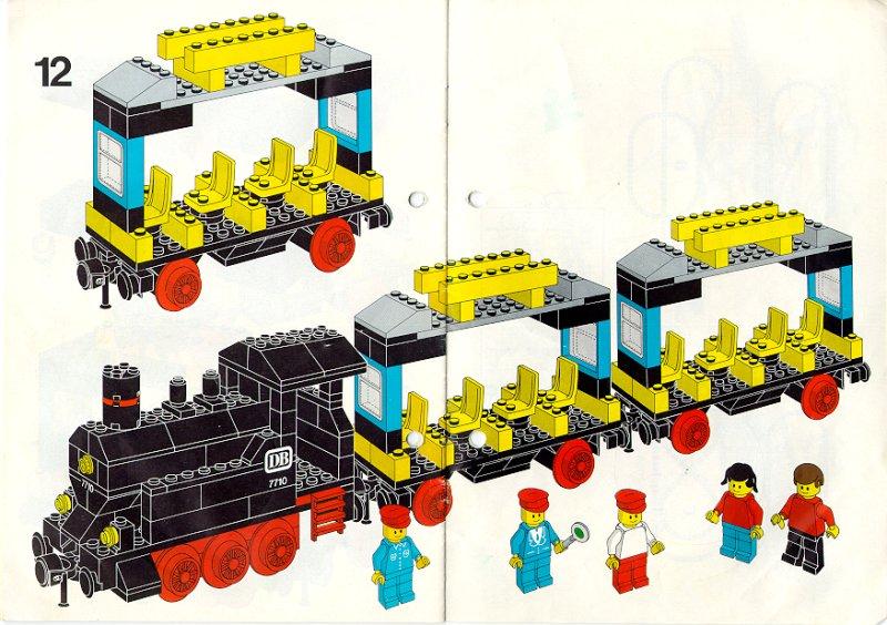 Lego Steam Train Steam Train Lego 7710