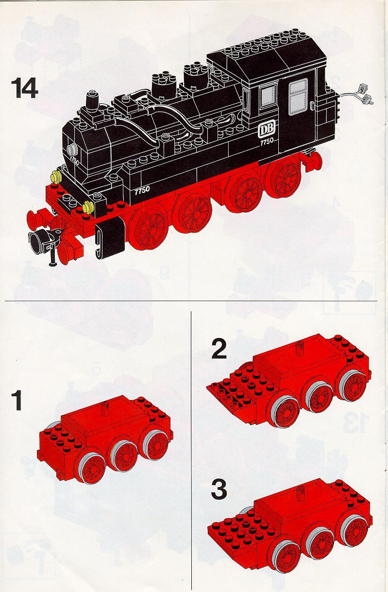 Lego Steam Train Lego 7750 Trains Steam