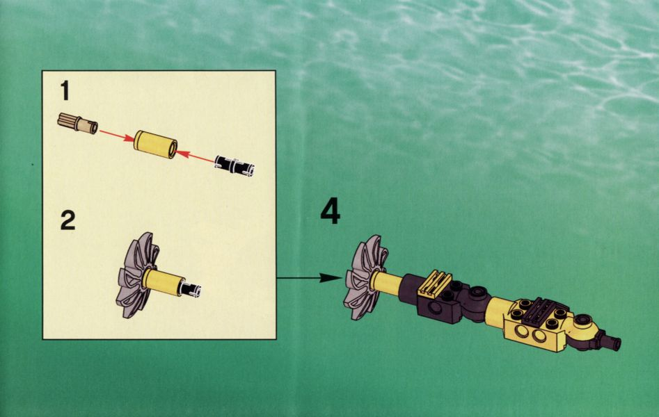 lego aqua raiders instructions