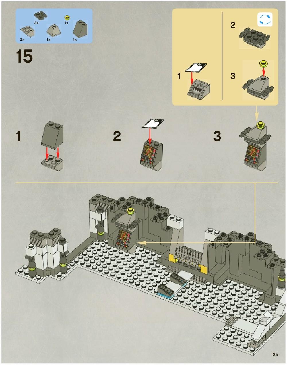 lego echo base instructions
