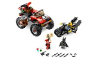 Lego Batman, The Batcycle: Harley Quinns Hammer Truck
