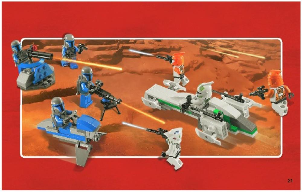 Lego Star Wars Clone Battle Pack Instructions