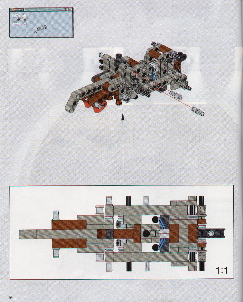 lego destroyer droid instructions