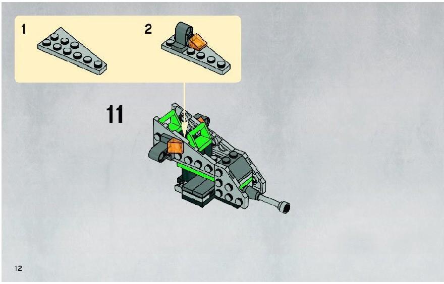 Lego Clone Walker Battle Pack Instructions 8014 Star Wars Clone Wars