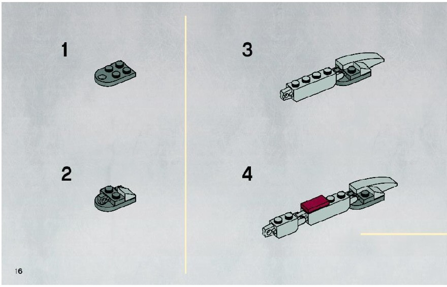 lego star wars clone walker battle pack instructions