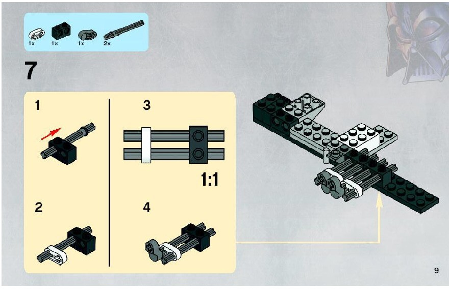 lego clone wars instructions