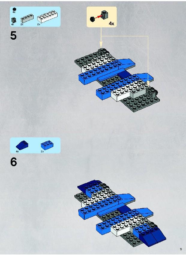 Lego Star Wars 8018 Instructions