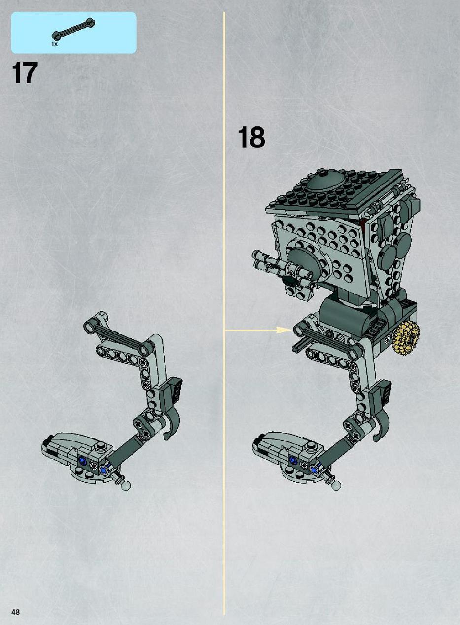 lego battle of endor instructions