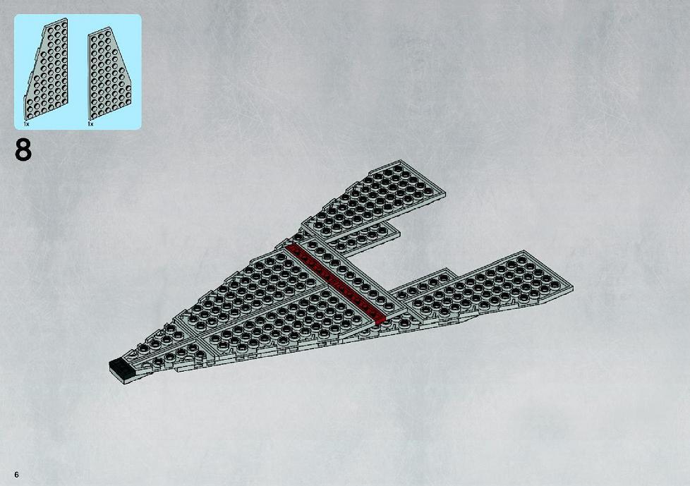 lego star wars mini republic attack cruiser instructions