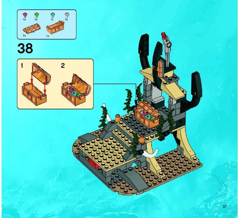 lego atlantis portal of atlantis instructions