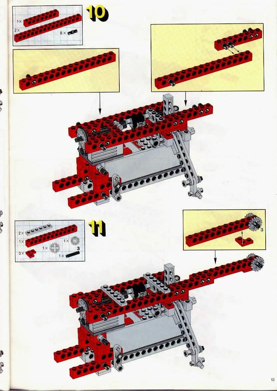 lego universal set with 9v motor instructions 8064 technic. Black Bedroom Furniture Sets. Home Design Ideas
