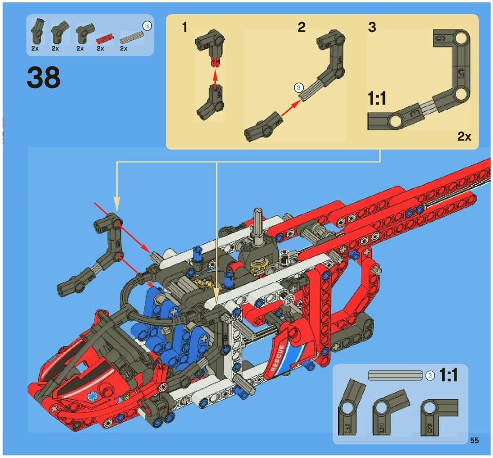 lego batman helicopter instructions