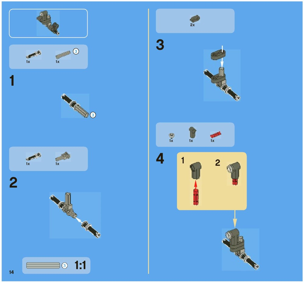 lego technic rescue helicopter instructions