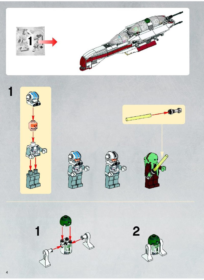 Lego Star Wars Building Instructions Pdf Download Oukasfo