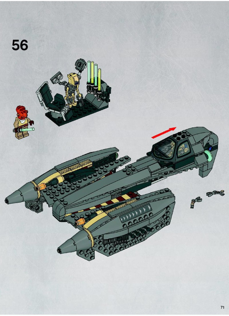 general grievous starfighter instructions
