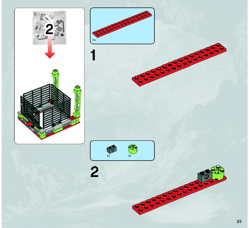Схемы и инструкции lego power miners