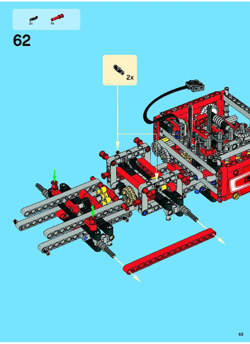 lego city crane instructions