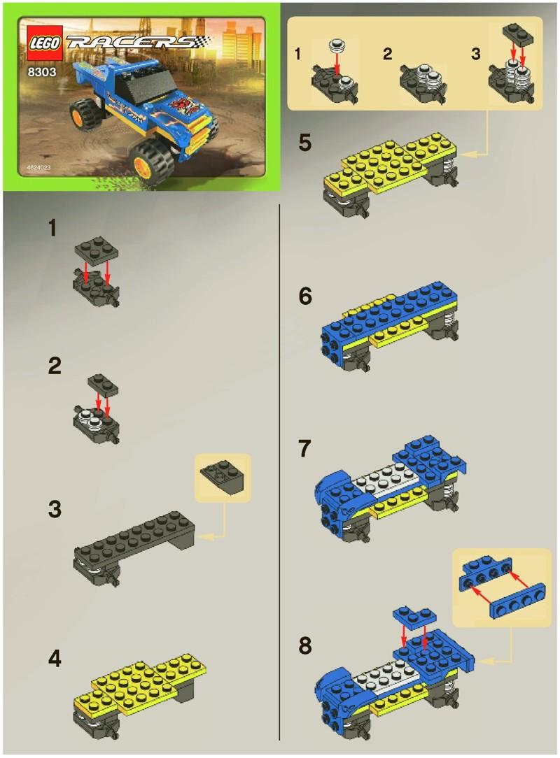 hero factory combo model instructions