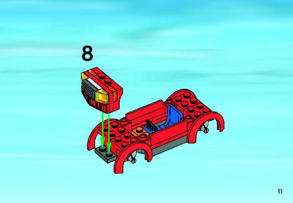 Simple Car Lego Set Instructions