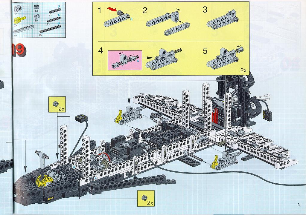 lego technic space shuttle parts list - photo #29