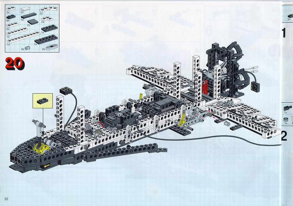 lego space shuttle building instructions - photo #26