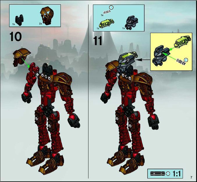 Lego Bionicle Stars Instructions