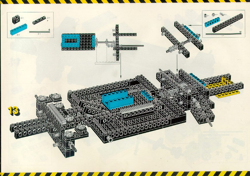 Lego Car Chassis Instructions 8860 Technic