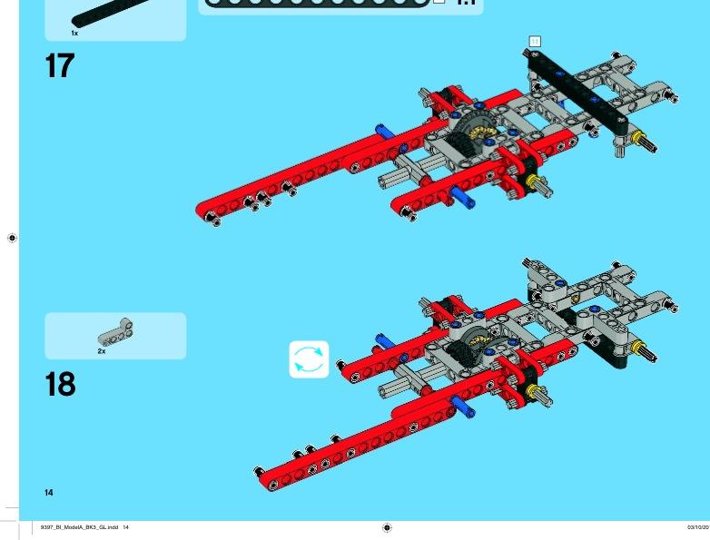 lego technic logging truck instructions