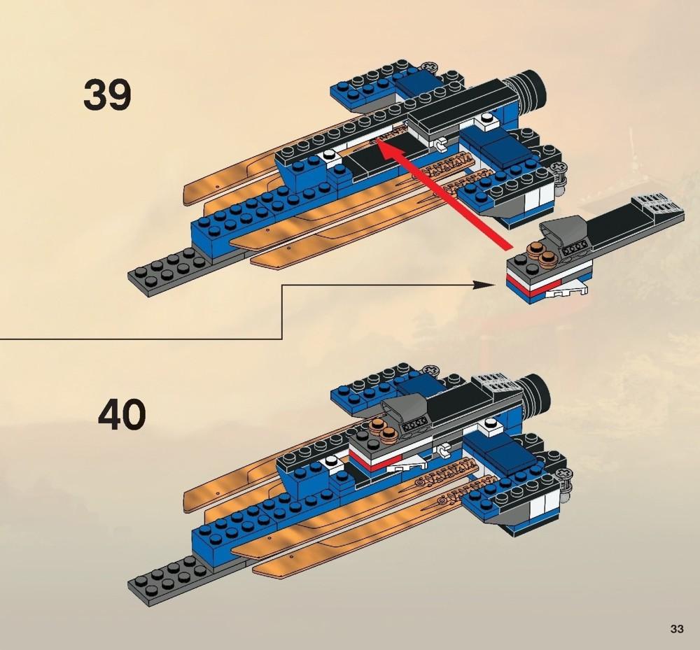 lego ninjago castle instructions